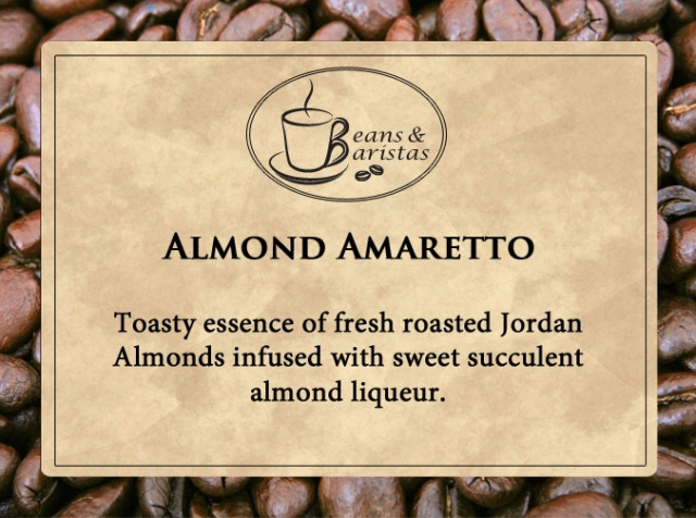 Toasty essence of fresh roasted Jordan Almonds infused with sweet succulent almond liqueur.