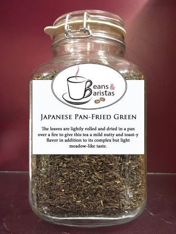 The leaves are lightly rolled and dried in a pan over a fire to give this tea a mild nutty and toast-y flavor in addition to its complex but light meadow-like taste.